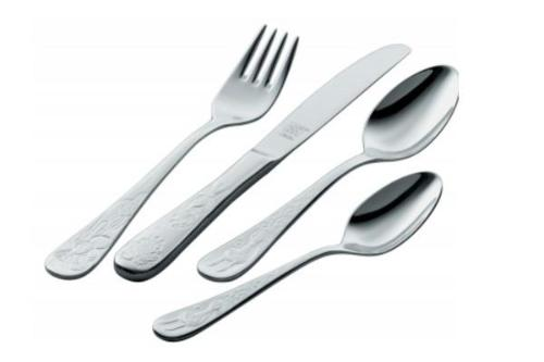 GRIMMS 4-PIECE FLATWARE CHILDREN SET