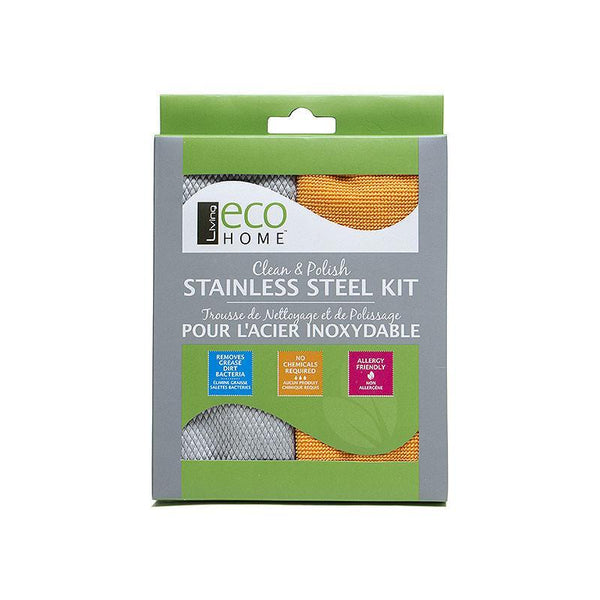 Clean and Polish Stainless Steel Kit