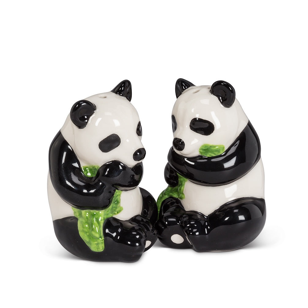 Sitting Panda Salt and Pepper - Britannia Kitchen & Home Calgary