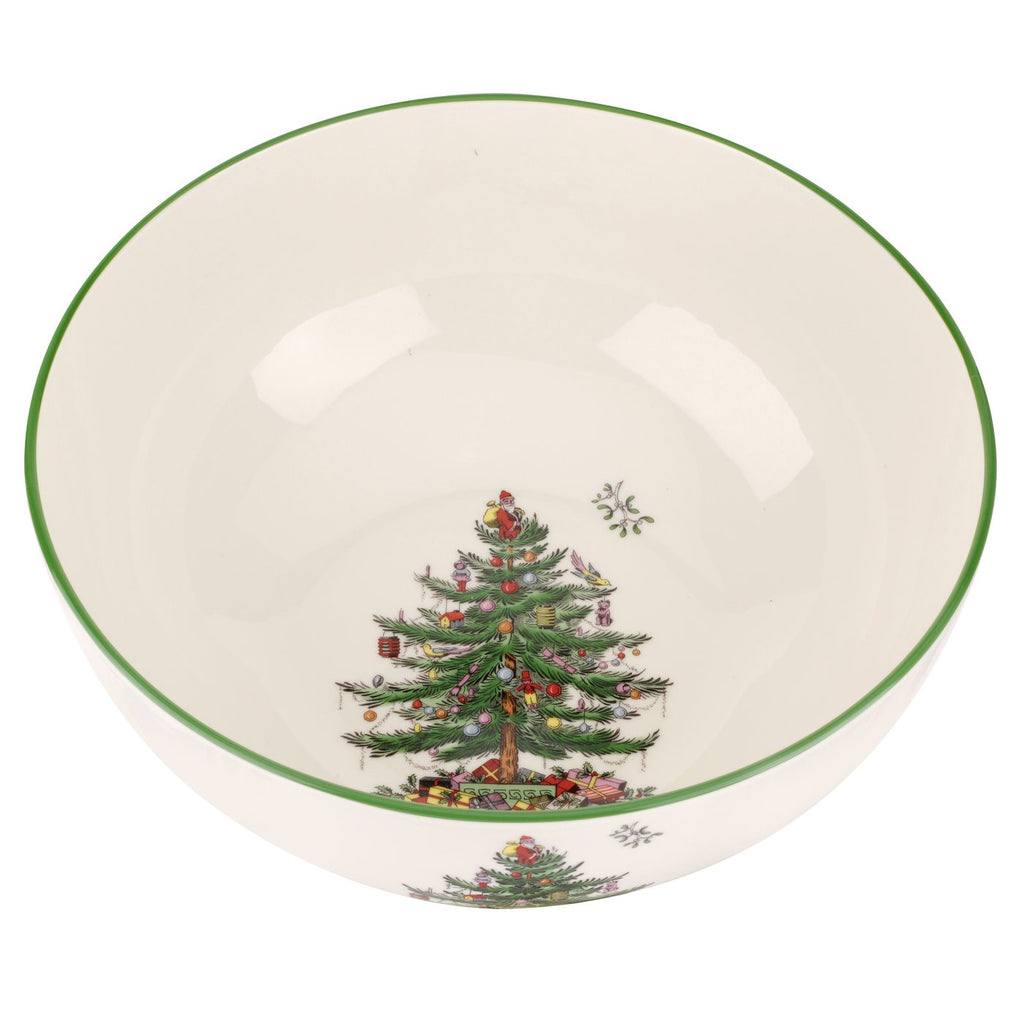 Spode - Christmas Tree Round Bowl 10""