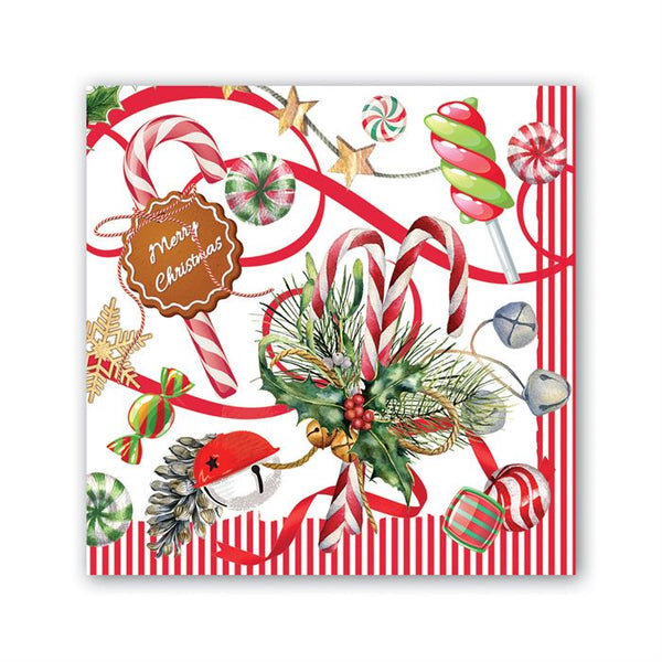 Peppermint Cocktail Napkins