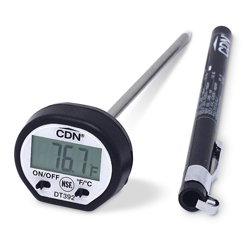 CDN Thermometer Digital Pro Accurate Black