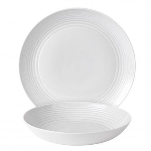 Gordon Ramsay Maze White  2-Piece Serving Set
