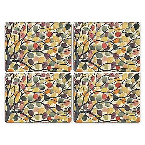 "Pimpernel - Dancing Branches 16x12"" s/4 Mats - Britannia Kitchen & Home Calgary"