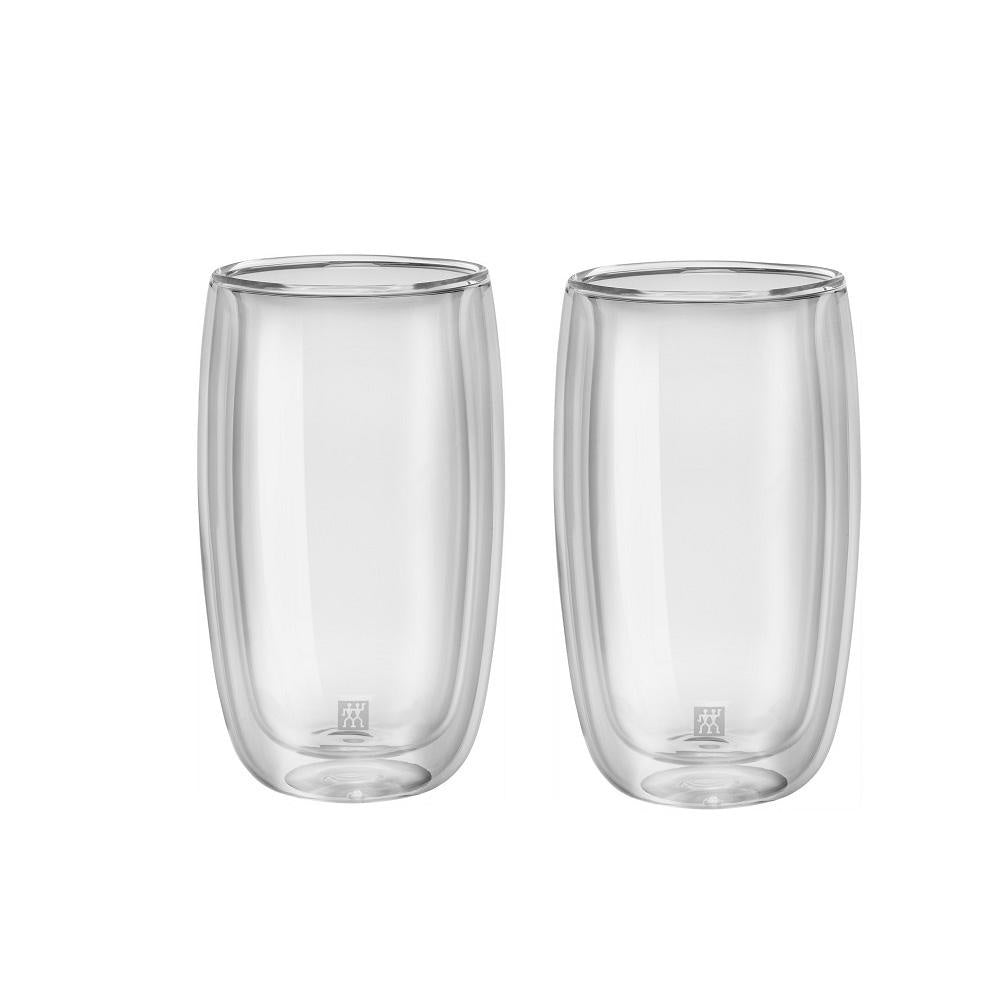 Sorrento 2-Piece 350ml Latte Macchiato Double Wall Glass