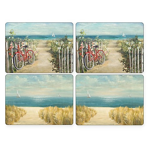 "Pimpernel - Summer Ride 16x12"" s/4 Mats"