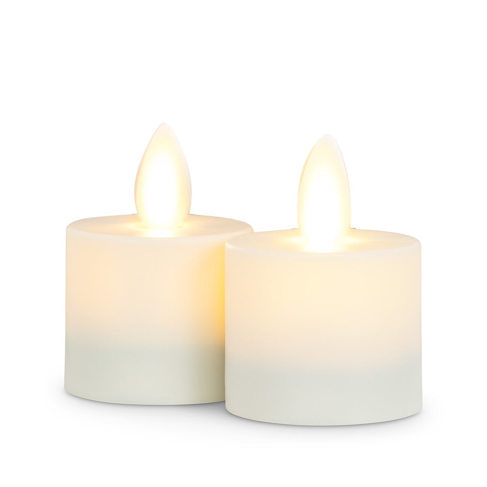 "Reallite Flameless Tealight 1.5"" x 2"" - Set of 2 - Britannia Kitchen & Home Calgary"