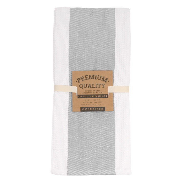Premium Quality Kitchen Towel - Set/3