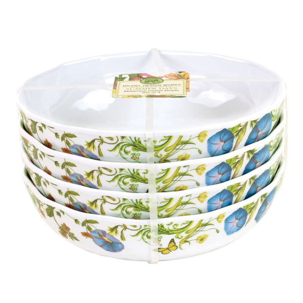 MIchel Design Melamine Cereal Bowl Set - S/4