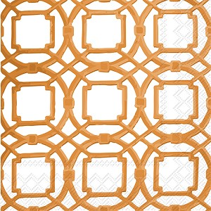 Clearance - Courtyard Terracotta Cocktail Napkin