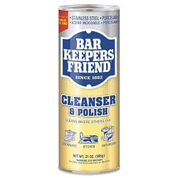 Bar Keeper's Friend  Cleanser & Polish Powder 21oz - Britannia Kitchen & Home Calgary
