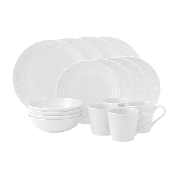 MAZE WHITE 16-PIECE SET