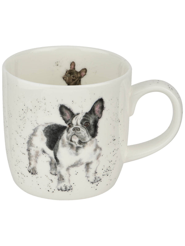 Mug 11oz Frenchie - Wrendale - Britannia Kitchen & Home Calgary