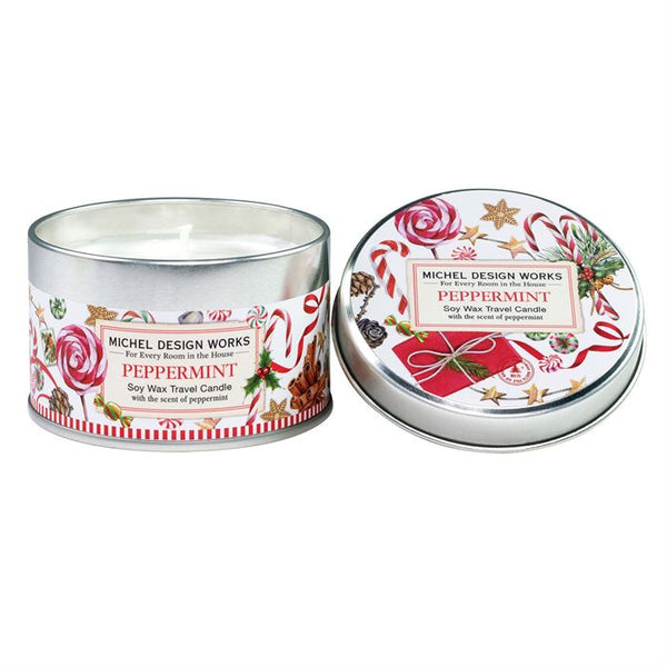 Peppermint Travel Candle