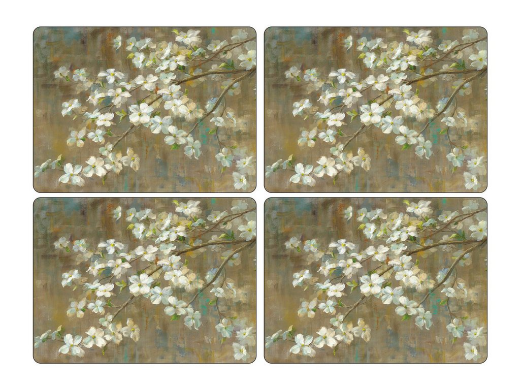 "Pimpernel - Dogwood in Spring 16x12"" s/4 Mats - Britannia Kitchen & Home Calgary"