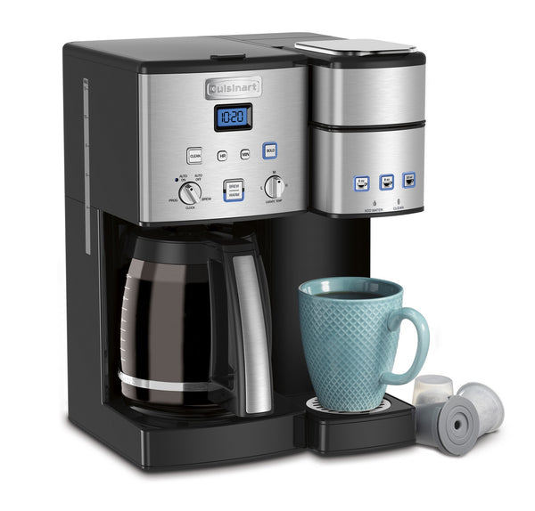 Coffee Center 12cup Coffeemaker & Single Serve Brewer