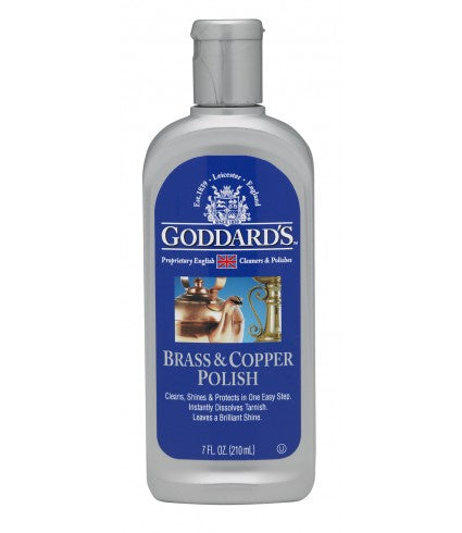 Goddard's Brass & Copper Polish - 210ml/7 fl oz