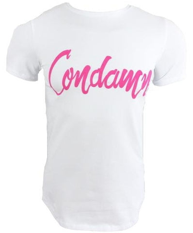 CONDAMN Pink / White