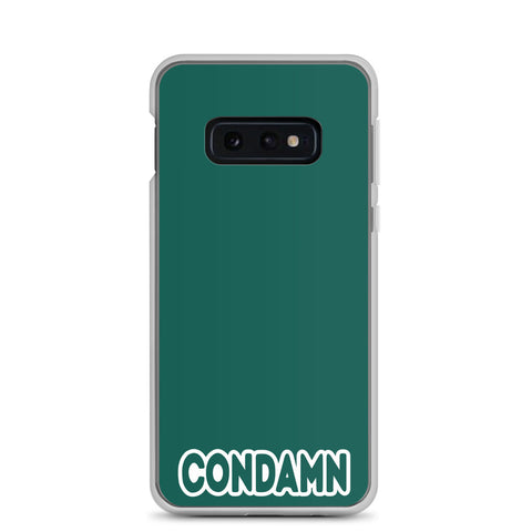 CONDAMN Forest Green Samsung Phone Case