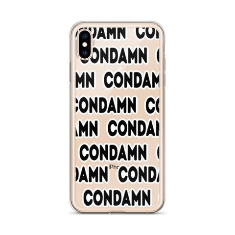 CONDAMN iPhone Case