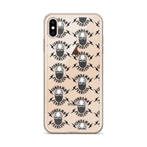 CONDAMN FEARLESS iPhone Case