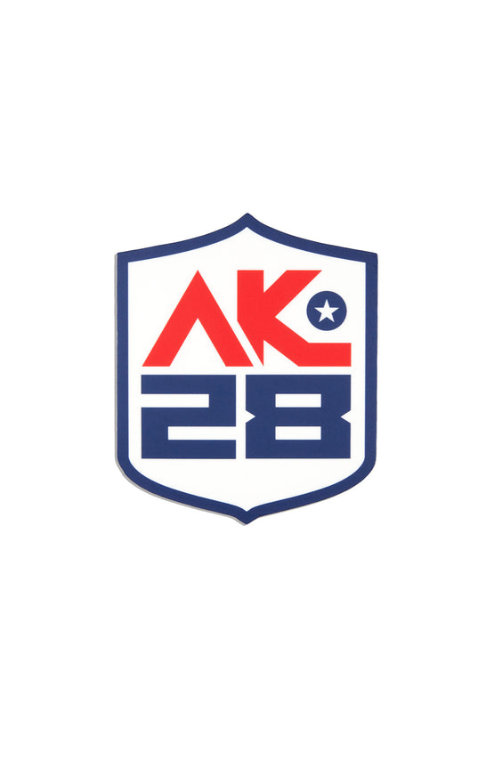 AK28 Branded Sticker