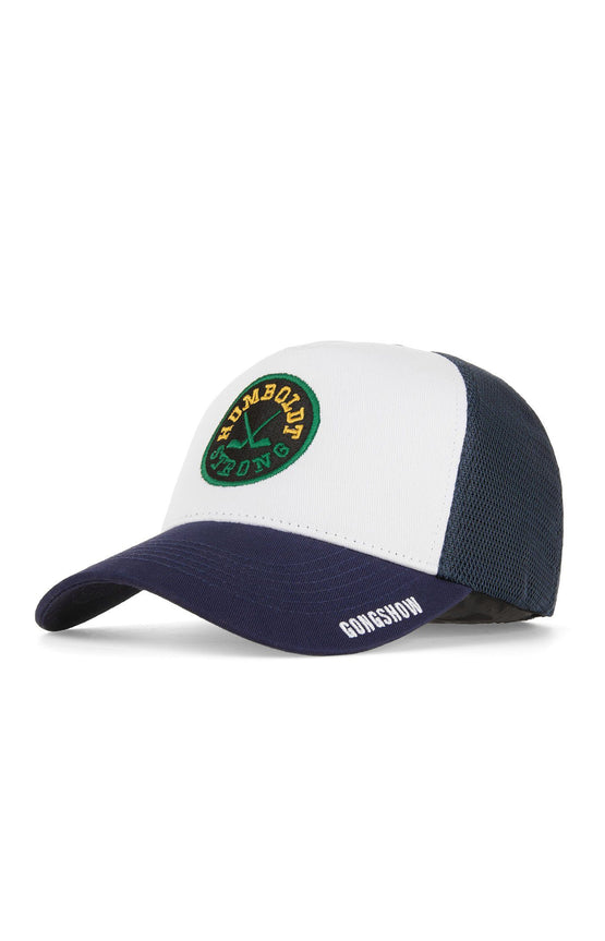 HUMBOLDT HOCKEY CHARITY HAT NAVY/WHITE
