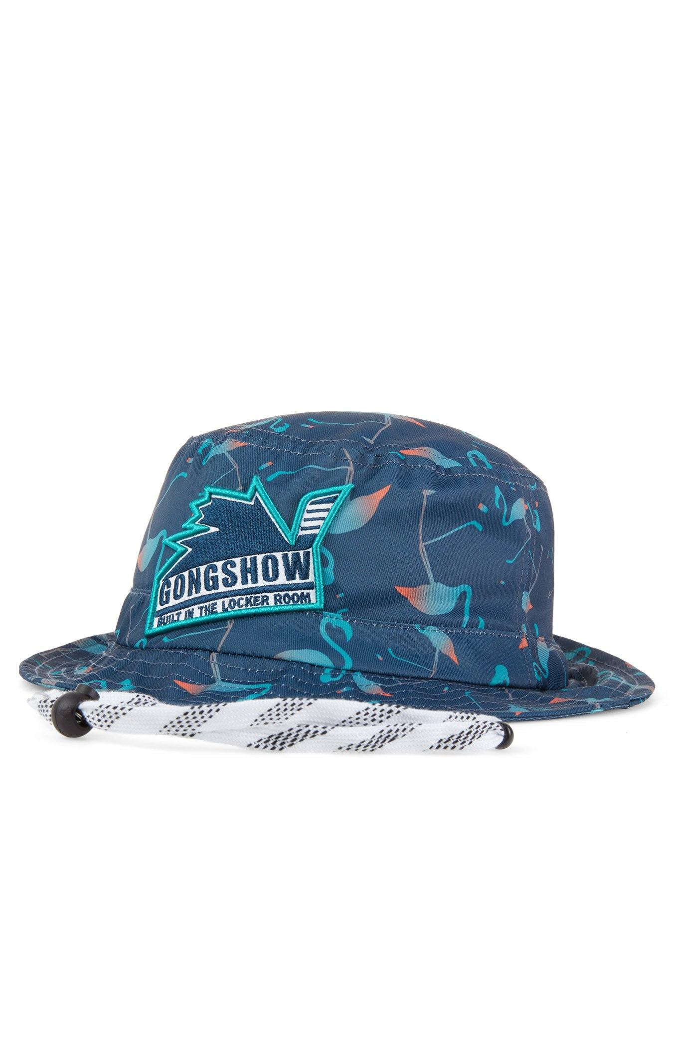 8396d23f44a No Divers Blue Men s Spring Hockey Bucket Hat – GONGSHOW Canada