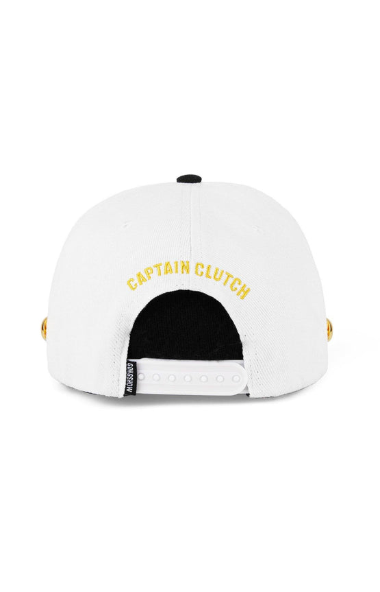 Captain Clutch - White