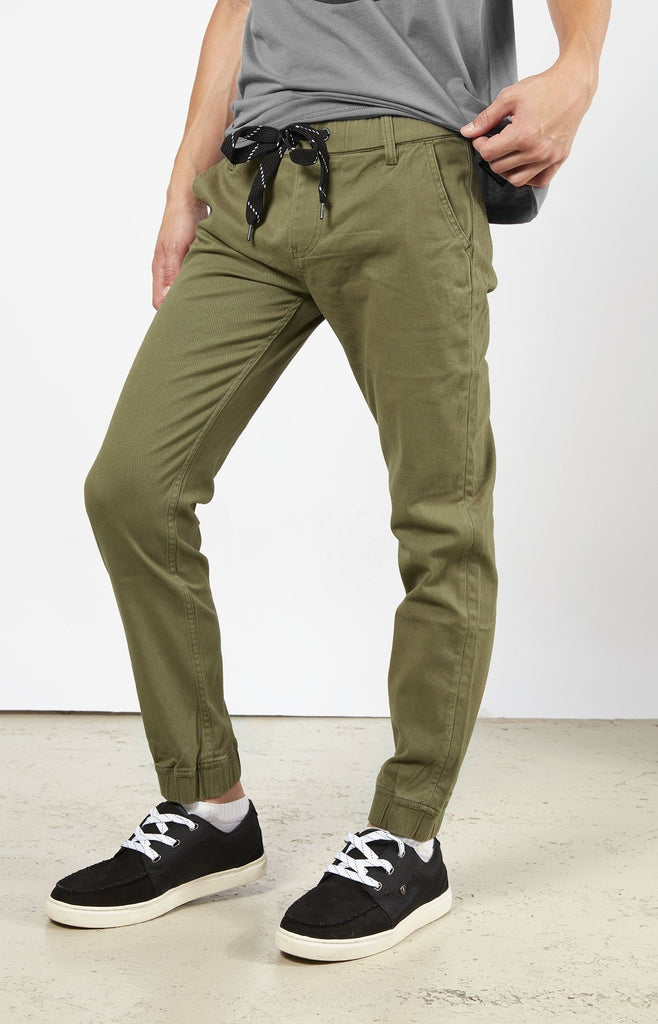 Green Jogger Chino JR