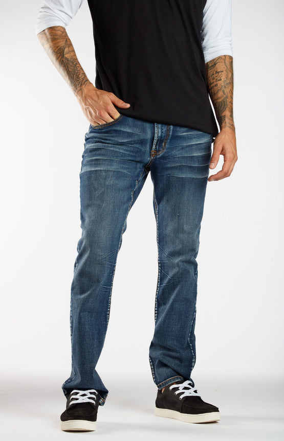 Hockey Legs Dark Wash