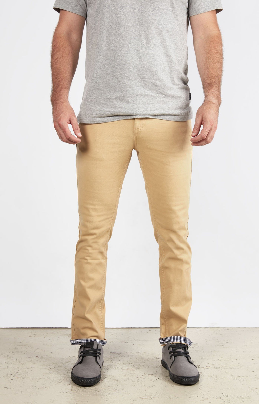 Chino Khaki - Slim Fit Stretch