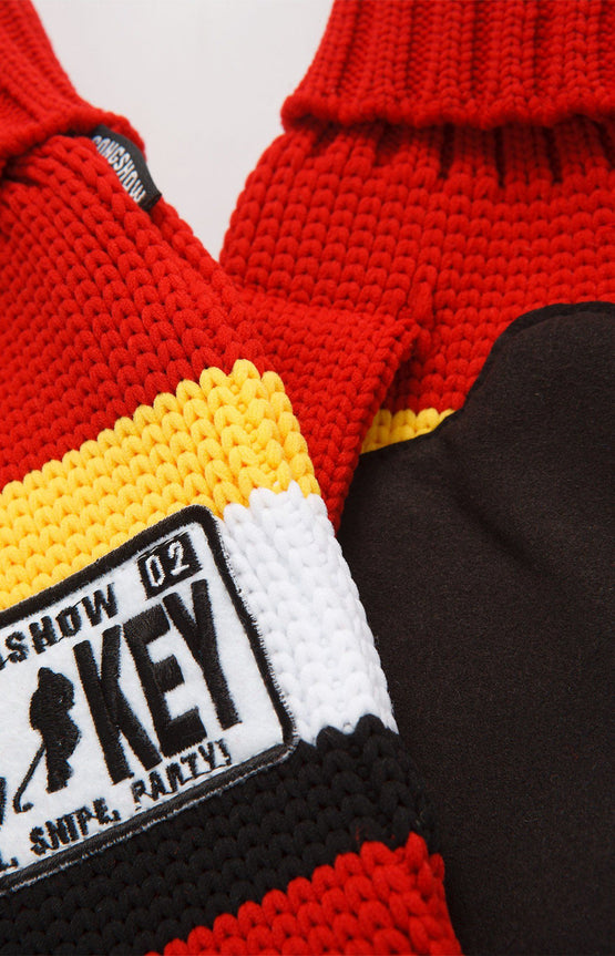 Hockey Sock Mitts Calgary
