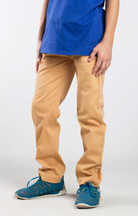 Jr Jogger Chino Beige