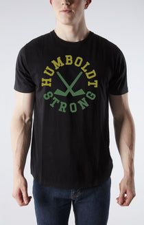 Humboldt Strong Men Black T-Shirt
