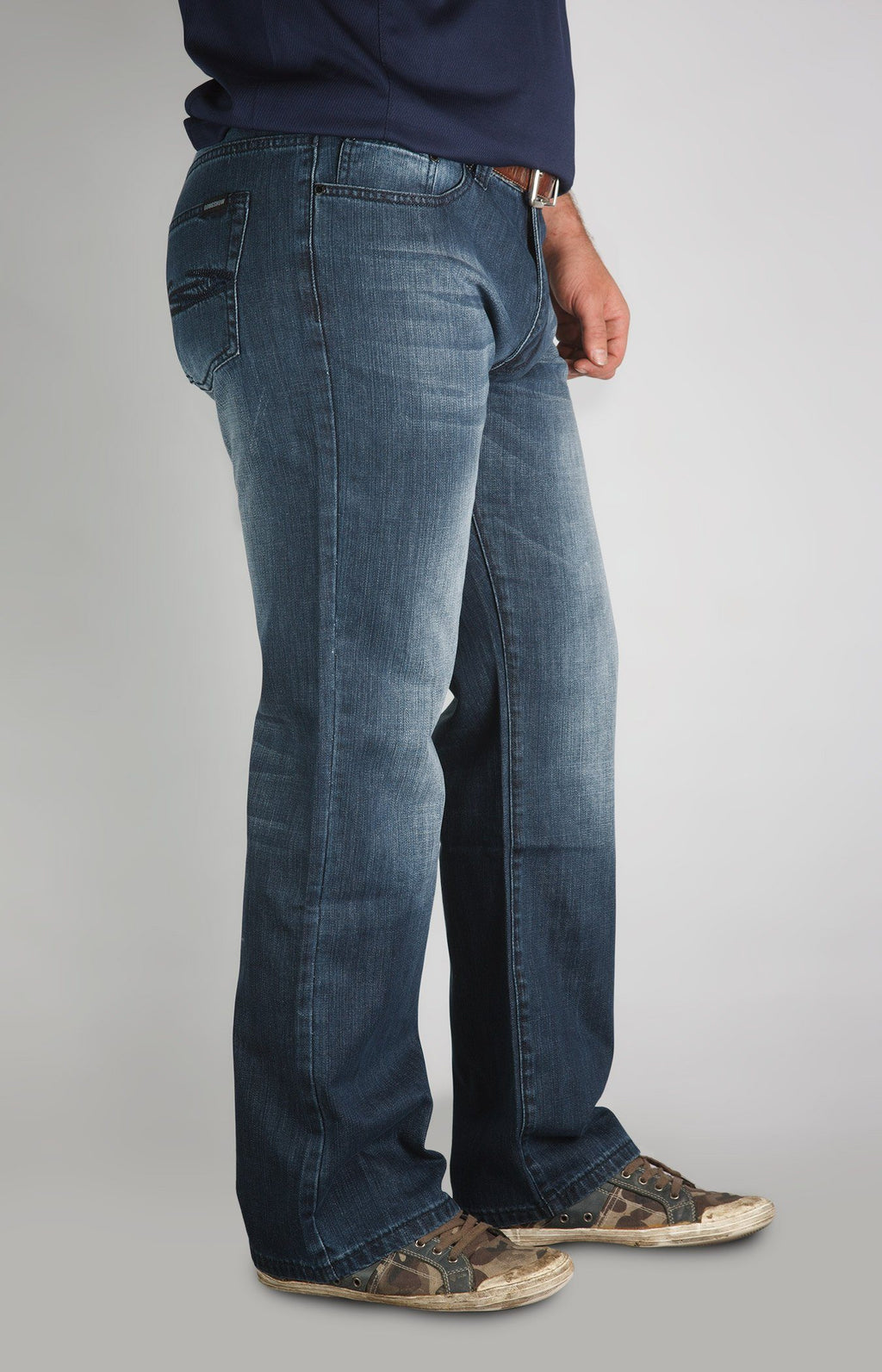 Quadasaurous - Medium Dark Wash