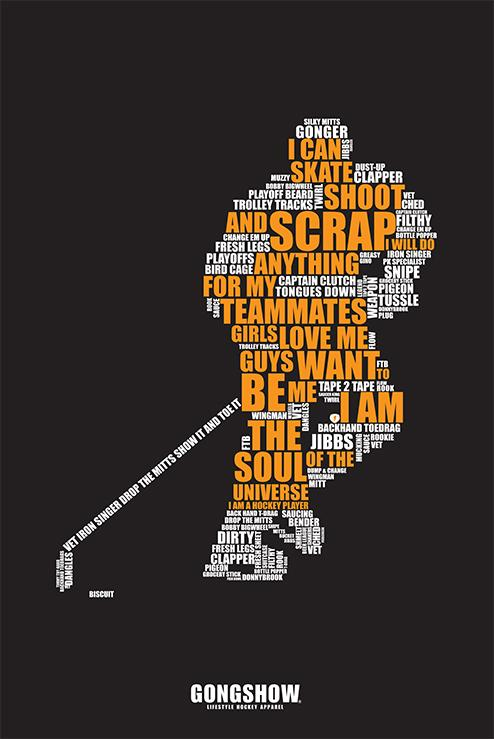 I Am A Hockey Player - Poster