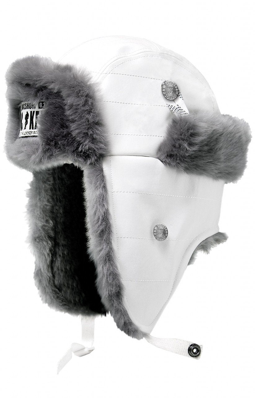 Trapper Hat White