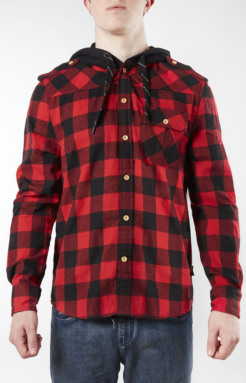 Plaid For The Lad Red/Black