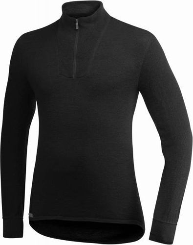 Turtleneck Shirt, 200 Gram with short zip