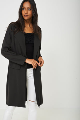 Long Cardigan in Black
