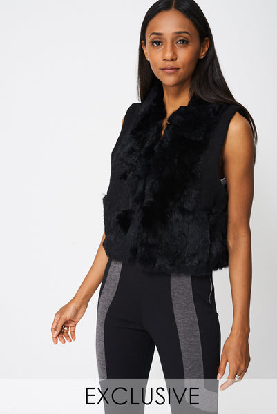 Exclusive Collection Fur Gilet