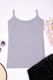 3 PACK Basic Grey Cami Ex Brand
