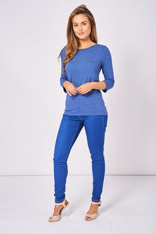 Mid Blue Skinny Jeans Available In Plus Sizes Ex-Branded