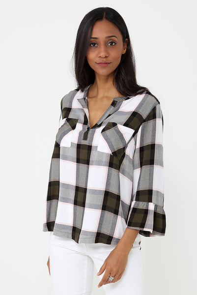 Casual Check Shirt Ex Brand