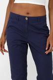 Mom Trousers in Navy