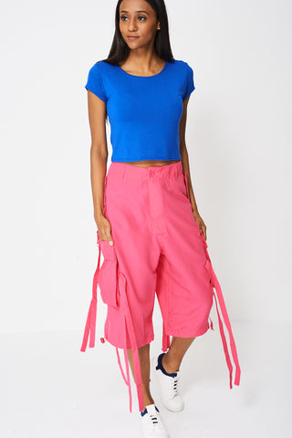 Wide Leg Shorts - lovelystyles