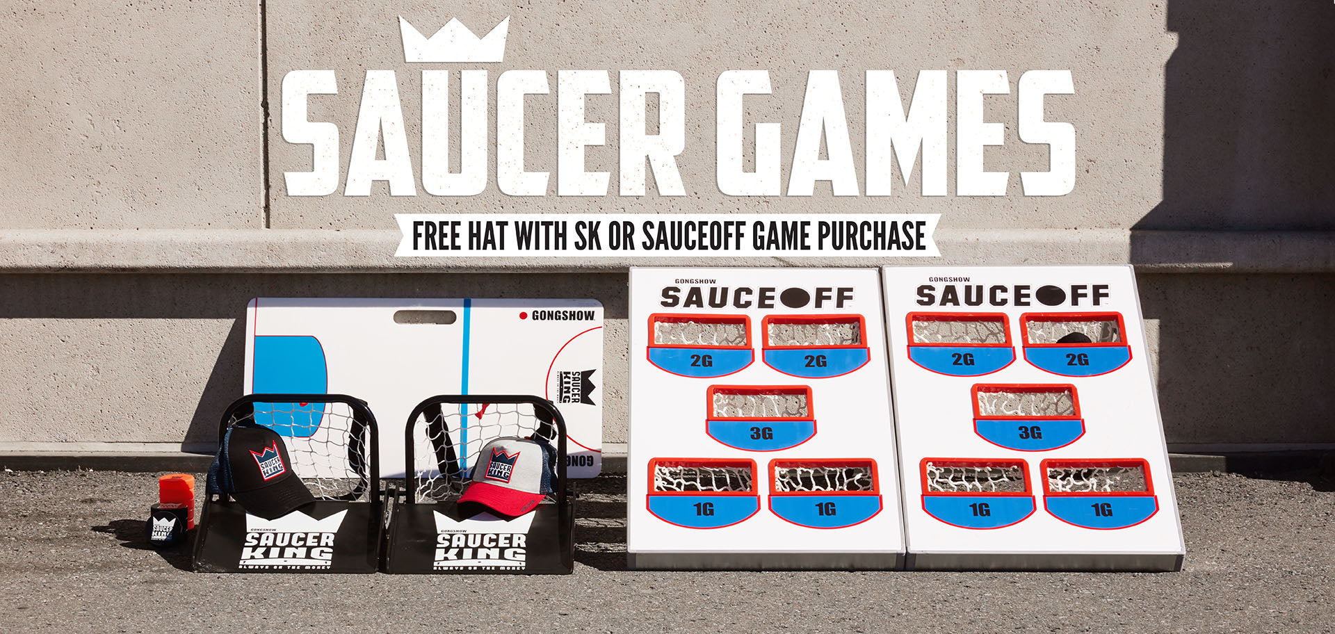 Saucer Games  - Free Hat with Purchase