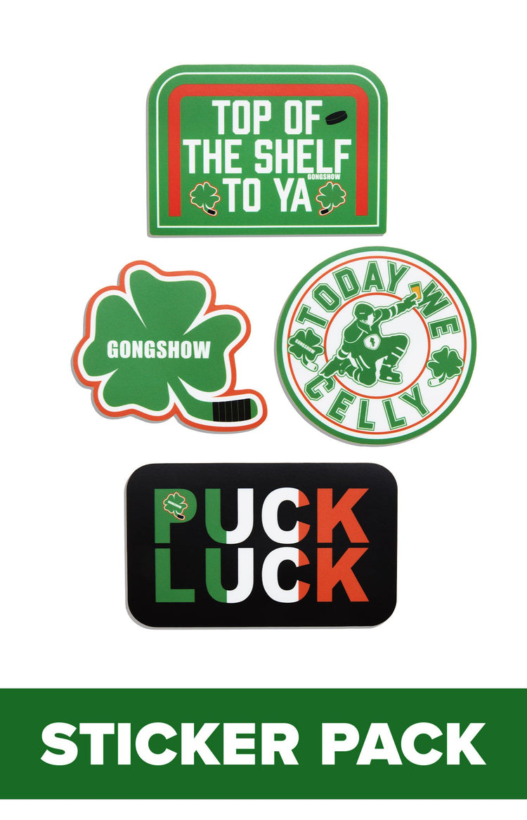 Puck Lucky Sticker - 4PK