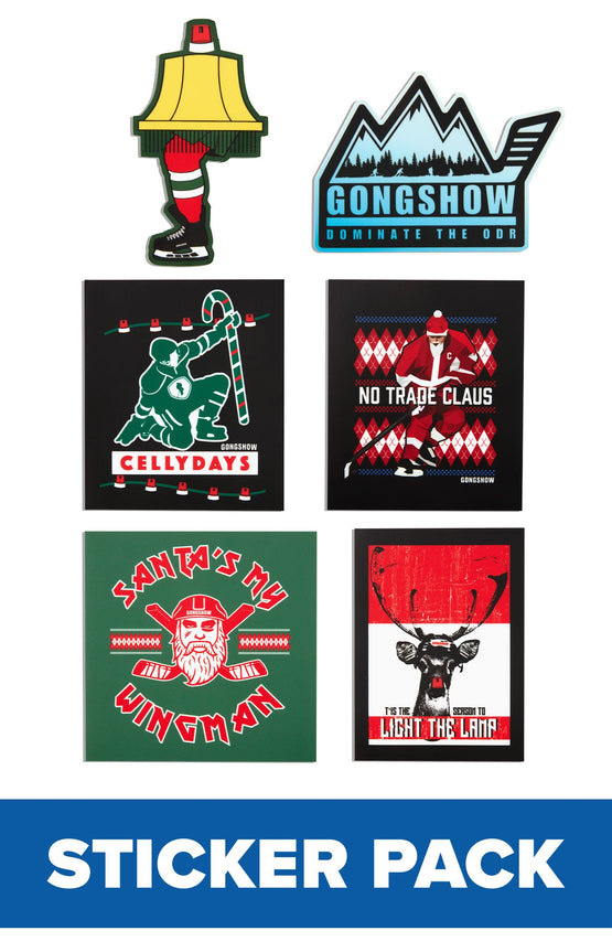Holiday 19 Sticker Pack - 6PK